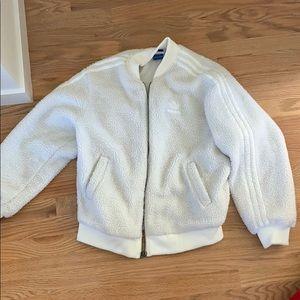 Adidas Faux Sherpa Jacket